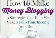 Make money blogging / Shows you how to make money from your blog