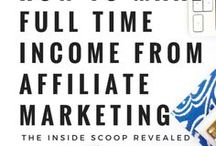 Affiliate Marketing Boss / Tips on how to make money on your blog through affiliate marketing