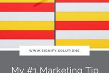 Signify Blog Posts / www.signify.solutions/blog I Providing marketing and communications information and resources to for- and non-profit organizations who set out to make the world a better place. When you succeed, we all win.  I nonprofit I social enterprise I marketing I social impact I strategy I business communications I small business