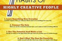 Inspiration and Creativity / Everyone needs inspiration, and I think these ideas will help influence your marketing in new and exciting ways. And through creativity comes in all forms, it needs to be regularly practiced.