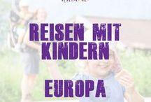 Europa - Reisen mit Kindern - dastoa / Europareisen - günstig liegen vor allem Frankreich und Italien, wenn man mit dem Auto durch Europa reisen möchte. Aber auch ein Flug nach Spanien oder Griechenland kann toll für die ganze Familie werden. Auf dieser Pinnwand findest Du schöne Reiseziele in Europa mit Kindern.