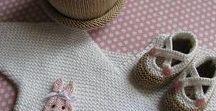 Babyschuhe und mehr / Gestricktes für Kinder