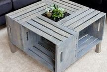 Best Pallet Furniture and Crafts / This is where I post all of my favorite Pallet Furniture and Pallet decoration ideas!