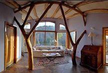 Casas ecológicas / Casas eco que aúnan confort y ecología.