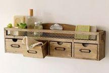 Home Decor / Ideas originales y con objetos reciclados.