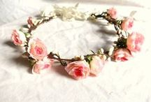 Stone Fox Headpieces / be sure to wear some flowers in your hair