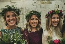 Stone Fox Bridesmaids / don't be jealous if they look super pretty; you'll still be the bride.