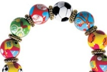 Sporty Girls / Wear your passion for the court, the green or the ocean on your wrist!