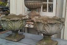Garden pots & ornament
