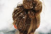 Weatherproof Hair / Hairstyles to see you through rain, snow and shine!