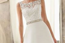 A Line Style Wedding Dresses / Flattering for most shapes