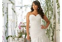 Curvey Brides Collections / Plus size wedding gowns at The Cotswold Frock Shop