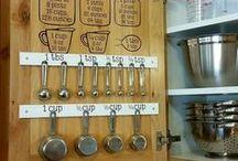 Organizing the Kitchen / Ways to organize your kitchen to make it more functional. #huskerhomefinderteam #realestate #papillionrealestate #organizeyourkitchen