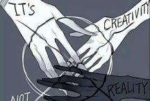 It's reality not creativity