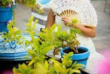 Abanicos para boda / Abanicos pintados a mano y personalizados para boda. ¿Buscas un detalle original y hecho a mano?