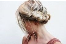 Lovely hairdo's and make-up