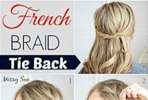 Hairstyles and How-Tos / Cute hairstyles for inspiration including braids, easy styles, hair color inspiration and lob haircuts. Haircut ideas for long and medium length hair. Hairstyle ideas for school and work and going out.