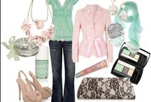Fashion Trendy Chic / visual clothes brainstorming