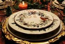 Christmas 2# / Center Pieces and Table Settings / by Angela Wilkins