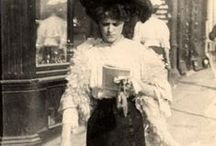 Satorial Street Splendor / Edwardian Age / by Bonne Marie Burns