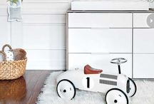 Baby Room Blitz / Ideas for our lofty baby room