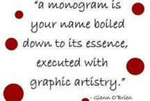 monogram mania / by Monica Eustace
