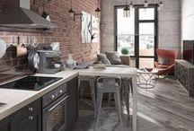 Kitchen Design and Decor Ideas / Inspiration for the home kitchen. Dream kitchen ideas.