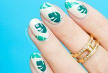 Creative Nail Art / Inspiration for manicures and nail art. Simple and creative ideas.