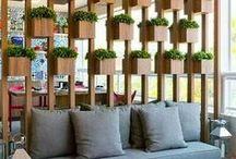INSPIRAÇÃO - Divisórias / dividir sem segregar! ;) / by Bonjour Arquitetura * Fabi