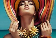 Tropical Fashion Ad Campaigns / Inspiration for island fashion photo shoots. Tropical fashion vibes.