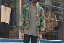Men's Style / Moda, inspiração e conceitos em: Moda urbana, Simple, Slim.