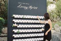 Wedding Seating Boards