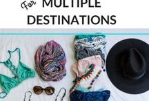 Family Travel Tips & Tricks / Family travel tips, tricks and ideas to make travel easier and more organized. How to travel with babies, kids and teenagers.