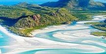 Australia - Queensland / Queensland Australia travel tips. Travel Inspiration featuring top activities and best accommodations in Queensland. Things to do in Queensland with children including the Gold Coast, Brisbane, Sunshine Coast, Whitsunday Islands, Cap Tribulation, Fraser Island, Townsville, Cape York and much
