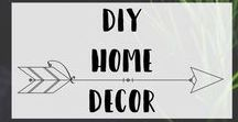 DIY Home Decor / DIY Home Decor projects on a budget, for apartments, and easy to tackle