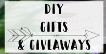 DIY Gift Ideas / DIY Gift Ideas and Giveaways that will save you money