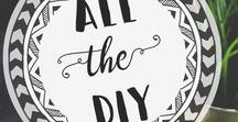Best of All The DIY / Best of All the DIY Blog Posts about DIY projects for home, organization, planning, crafts and more.