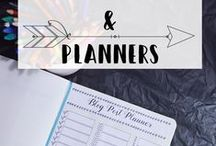 Bullet Journal and Planner Ideas / Bullet Journal and Planner ideas and inspiration