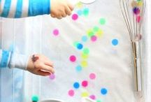 Easy Baby and Toddler Activities / Activities for babies, toddlers, pre-schoolers and small children which are easy and affordable.  Particularly useful for parents struggling with ill health or chronic illness, fatigue and lack of energy.