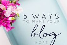 Blogging Advice / Blogger tips and advice to help build a successful blog.  Including blogging ideas, blog design and content, using social media, attracting more readers and creating good content.
