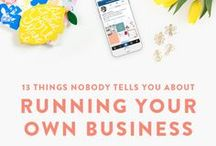 Business Advice / Advice for setting up a small business.  Includes business planning, setting goals, marketing, working from home and how to make your business a success.
