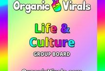 Life & Culture Group Board / Everything to do with Life & Culture! If you'd like to contribute to this board then follow us at pinterest.com/organicvirals and then go to organicvirals.com to fill out our Contact Us form with your details and you'll get added within 24 hours guaranteed! Max 5 pins per day and please repin 1 post for every pin that you add. Feel free to invite your friends or anyone else you think would like to contribute!