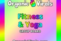 Fitness & Yoga Group Board / Everything to do with Fitness & Yoga! If you'd like to contribute to this board then follow us at pinterest.com/organicvirals and then go to organicvirals.com to fill out our Contact Us form with your details and you'll get added within 24 hours guaranteed! Max 5 pins per day and please repin 1 post for every pin that you add. Feel free to invite your friends or anyone else you think would like to contribute!