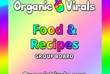 Food & Recipes Group Board / Everything to do with Food & Recipes! If you'd like to contribute to this board then follow us at pinterest.com/organicvirals and then go to organicvirals.com to fill out our Contact Us form with your details and you'll get added within 24 hours guaranteed! Max 5 pins per day and please repin 1 post for every pin that you add. Feel free to invite your friends or anyone else you think would like to contribute!
