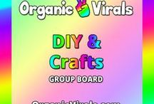 DIY & Crafts Group Board / Everything to do with DIY & Crafts! If you'd like to contribute to this board then follow us at pinterest.com/organicvirals and then go to organicvirals.com to fill out our Contact Us form with your details and you'll get added within 24 hours guaranteed! Max 5 pins per day and please repin 1 post for every pin that you add. Feel free to invite your friends or anyone else you think would like to contribute!