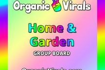 Home & Garden Group Board / Everything to do with Home & Garden! If you'd like to contribute to this board then follow us at pinterest.com/organicvirals and then go to organicvirals.com to fill out our Contact Us form with your details and you'll get added within 24 hours guaranteed! Max 5 pins per day and please repin 1 post for every pin that you add. Feel free to invite your friends or anyone else you think would like to contribute!