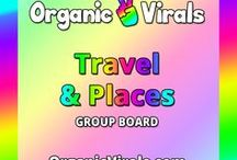 Travel & Places Group Board / Everything to do with Travel & Places! If you'd like to contribute to this board then follow us at pinterest.com/organicvirals and then go to organicvirals.com to fill out our Contact Us form with your details and you'll get added within 24 hours guaranteed! Max 5 pins per day and please repin 1 post for every pin that you add. Feel free to invite your friends or anyone else you think would like to contribute!
