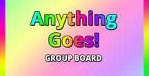 Anything Goes Group Board / Anything Goes! If you'd like to contribute to this board then follow us at pinterest.com/organicvirals and then go to organicvirals.com to fill out our Contact Us form with your details and you'll get added within 24 hours guaranteed! Max 5 pins per day and please repin 1 post for every pin that you add. Feel free to invite your friends or anyone else you think would like to contribute!