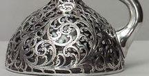 * Artistic silver / Sztuka dekoracyjna, użytkowa, artystyczne srebrne wyroby, często o wartości muzealnej