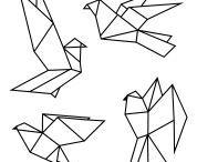 Origami motifs